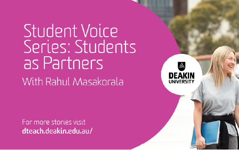 Student Voice Series #02 with Rahul Masakorala