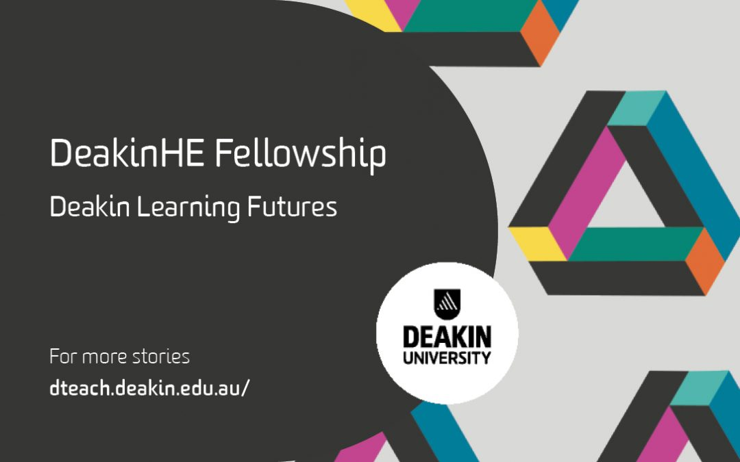 Newly accredited programme offers staff recognition for their great teaching and learning at Deakin University