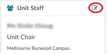 Edit icon in unit staff widget