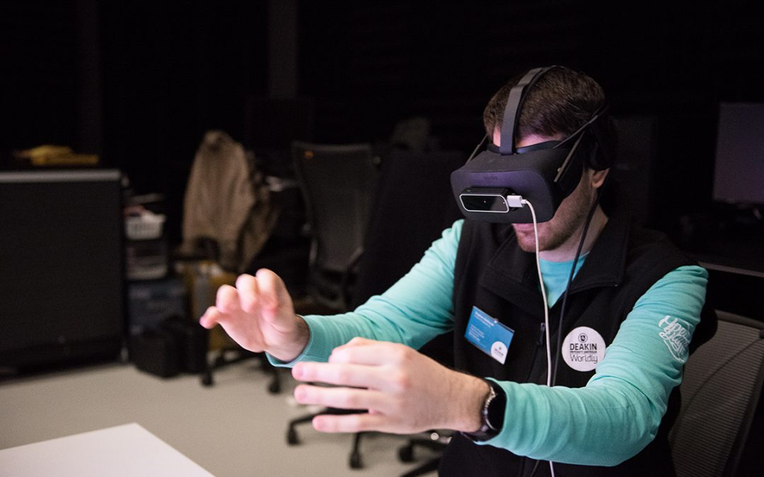 Deakin Library Digital Demos and XR explorations